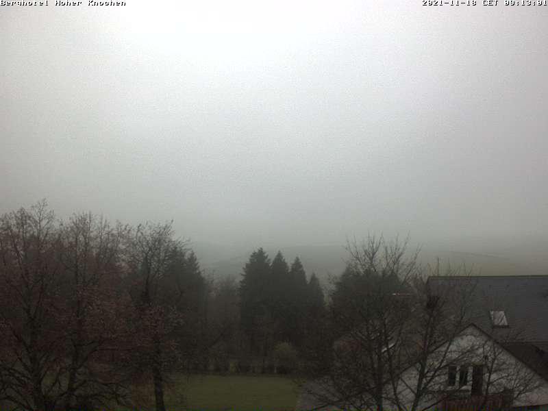 Webcam Hotel Hoher Knochen im Sauerland